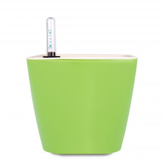 GreenSun 雨系列儲水花器 蘋果綠 (13cm) 附水位計