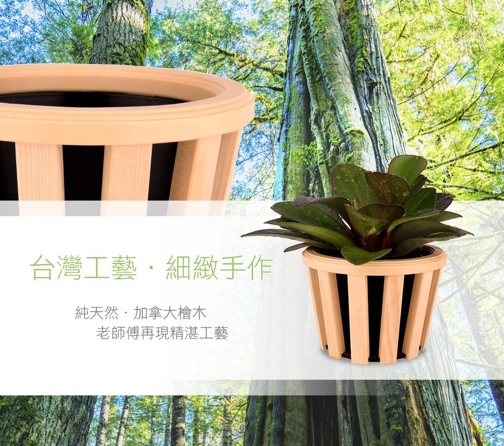 2Ustyle 風格圖悠 盆栽 花器 植物 檜木花器